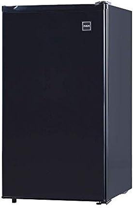 RFR320 Mini refrigerador de una puerta con congelador, 3.2 Cu. Pie. capacidad - negro