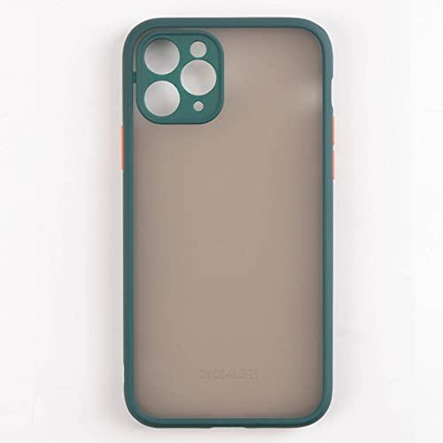 IPhone 11 Funda para teléfono móvil nueva piel sensación Apple XSMAX helado líquido 7plus cubierta protectora