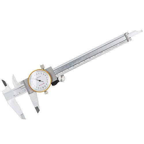 Marhynchus Dial Caliper Vernier,0‑150mm Vernier Caliper,Double Shock Stainless Steel Manual Measuring Tool
