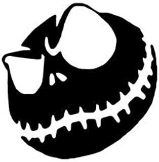 Legacy Innovations Jack Angry Black Decal Vinyl Sticker|Cars Trucks Vans Walls Laptop| Black |5.5 x 5.5 in|LLI696