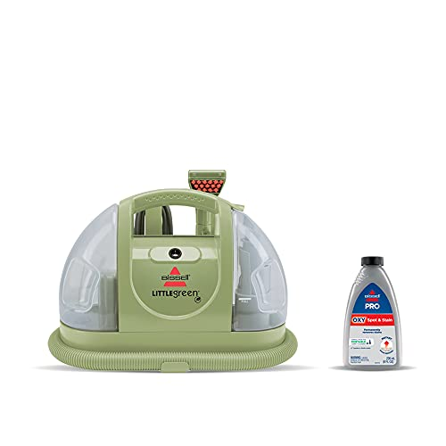 Bissell Multi-Purpose Portable Carpet and Upholstery Cleaner, 1400B, Green
