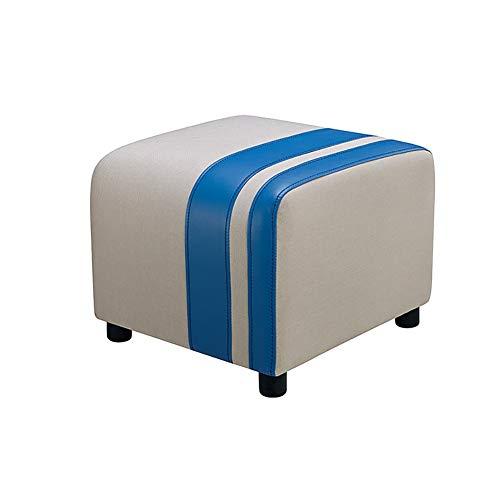 Reposapiés para cambiar, taburete de tela europea, sofá, banco, zapatos, taburete, dormitorio, taburete sentado (color: #2)