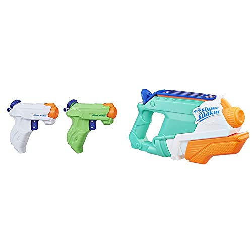 Hasbro Nerf SupersoakerHasbro, Pistola Ad Acqua A Spruzzo Super Soaker Zipfire, Confezione Da 2 Pezzi & Nerf Super Soaker E0021Eu4 - Splash Mouth