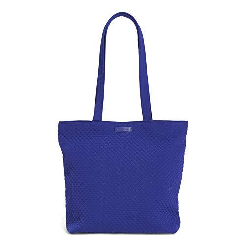 Vera Bradley Women's Microfiber Tote Bag Totes, Gage Blue, One Size