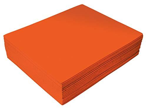 Orange EVA Foam Sheets, 30 Pack