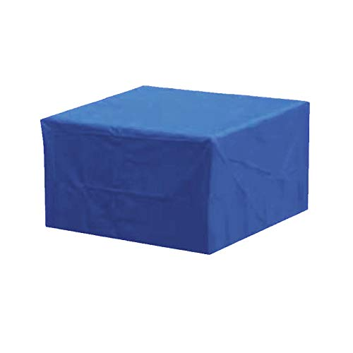 BASA Square Garden Furniture Cover, Heavy Duty Oxford Cloth, Dustproof, Breathable, Waterproof, For Rectangular-Blue 210 * 140 * 70cm