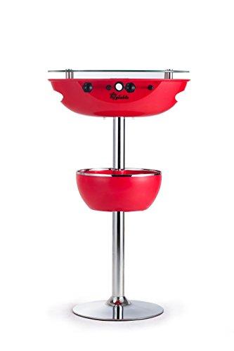 Sweety Toys 6649 ICY Table Multifunktionstisch: Bartisch-Kühlbox-Tischkicker ROT