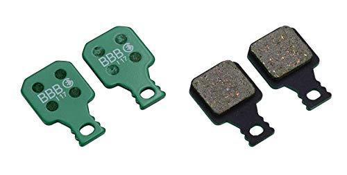 BBB BBS-372E Discstop High Performance Electric Bike Disc-Pastillas de Freno, Unisex Adulto, Verde