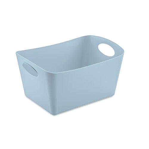 koziol caissette de rangement 1 l Boxxx S, thermoplastique, powder bleu, 12,8 x 18,7 x 10,8 cm