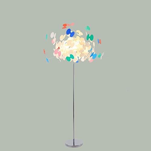 lampadaire Lampadaire, Lampadaire Papillon, Lampadaire Couleur, Source De Lumière G9, Salon Salle À Manger