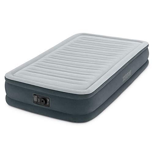Intex Comfort-Plush Luftbett - Twin - 99 x 191 x 33 cm - Mit eingebaute elektrische Pumpe