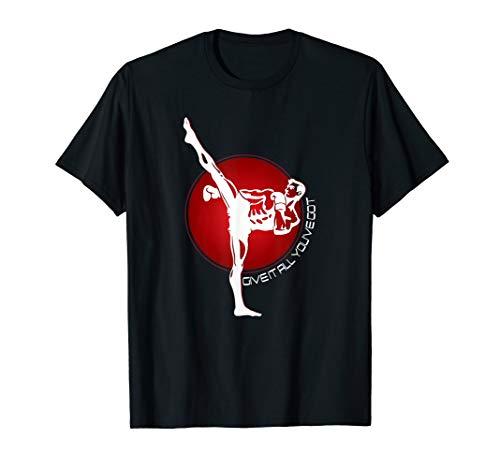 Kickboxen Kampfsport T-Shirt Sport