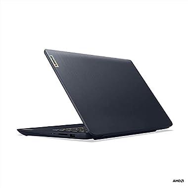 Lenovo IdeaPad 3 14 14.0″ Laptop, 14.0″ FHD (1920 x 1080) Display, AMD Ryzen 5 5500U Processor, 8GB DDR4 RAM, 256GB NVMe TLC SSD Storage, AMD Radeon 7 Graphics, Windows 10 Home, 82KT00AMUS, Abyss Blue