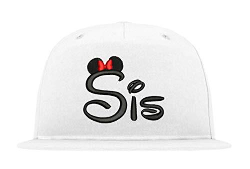 TRVPPY Snapback Cap Modell Sister SIS, Schwarz-Weiß