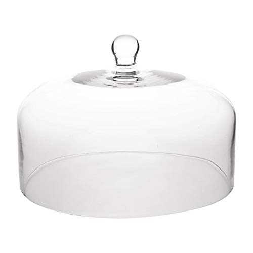 Olympia CS014 Tårtställ i glas kupol för bas CS013 285 mm x 200 mm displayplatta