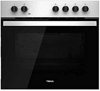 Horno - Teka HBE 435 ME, Convencional, 3 funciones, 60 cm, 2593W, 72 L, A, Inox y negro