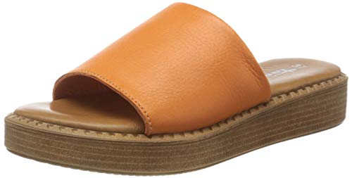 Tamaris Damen 1-1-27236-34 Slipper, Peach Leather, 39 EU