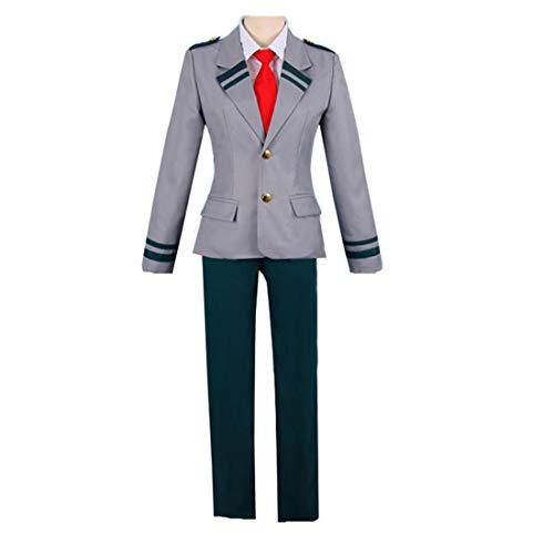 My Hero Anime Academia Ochaco Uraraka Tsuyu Blazer Pantalones Traje Cosplay Disfraz Escuela Uniforme para Adultos Nios XL