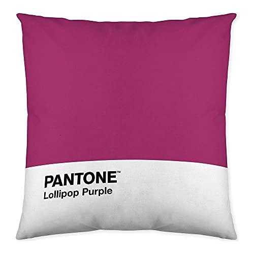 Pantone Funda de cojín Reversible Fun Deck Purple 50x50 cm