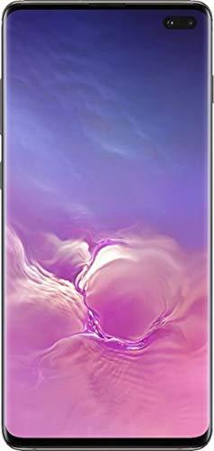 Samsung - Galaxy S10+ SM-G975U1 Phone GSM + CDMA Factory Unlocked Single Sim - US Warranty (Ceramic Black, 8GB/ 512GB)