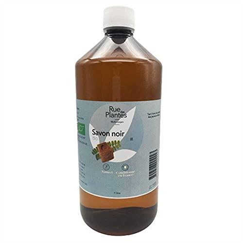 RUE DES PLANTES Savon Noir Bio 1 Litre - Un nettoyant Naturel, écologique et très Efficace Multi-usages
