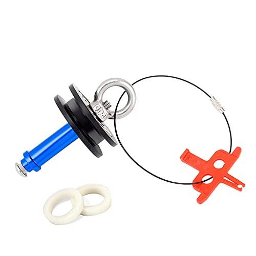 LEERAIN Soporte de cadena para bicicleta, eje de enchufe, soporte de cadena para bicicleta, soporte de cadena, soporte para bicicleta, para limpieza
