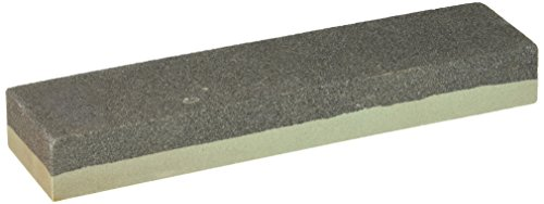 Winco SS-821 Combination Sharpening Stone, 8-Inch by 2-Inch by 1-Inch,Medium,Black, Gray