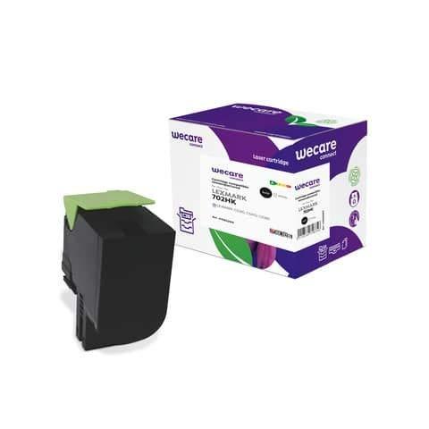 Tóner de alto rendimiento WECARE compatible con Lexmark 70C2HK0 -