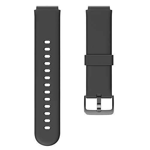 YAMAY Cinturino di Ricambio per Smartwatch YM021 YM023 SW021 SW023 SW025 (Nero)