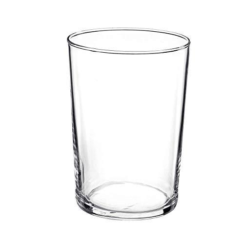 Hogar y Mas Vaso de Cerveza, Sidra, Combinados, Mojitos 50 cl. Vasos de Cristal Multiusos 6 Uds