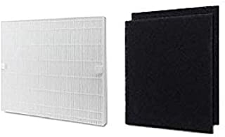 Nispira Replacement HEPA Filter with Carbon Pre Filter Compatible with Coway Mighty Air Purifier AP-1512HH 3304899, 1 Set