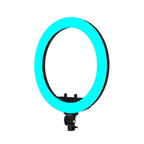 Make Up Foto Ring Light Colorful RGB Light Ring Micro Video Film da 19 pollici Shooting cambiamento LED di colore in diretta Fill luce macchina fotografica Photo Video Kit di illuminazione a LED con s