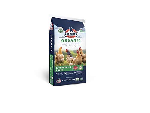 Kalmbach Feeds 17% Organic Layer Pellet