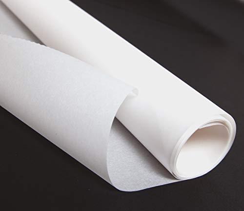 Clairefontaine 330200C - Papel de regalo (Papel de regalo, Blanco, Monótono, Papel, 90 g/m², 2,5 m)
