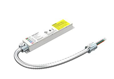16W 150-200VDC LED Light Emergency Backup Battery, Rechargeable LED Emergency Driver for Dimmable 10-300W LED Light with External Driver, Emergency Time 90 Min.