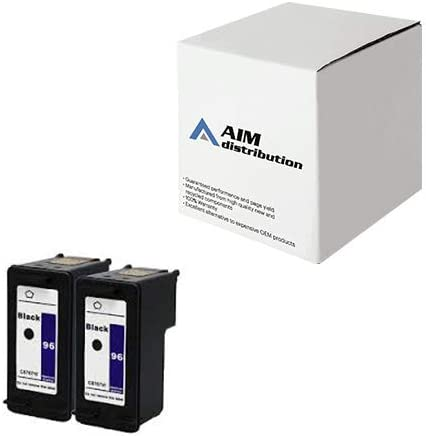 AIM Compatible Replacement for HP NO. 96 Black Inkjet (2/PK-860 Page Yield) (CC578EE) - Generic