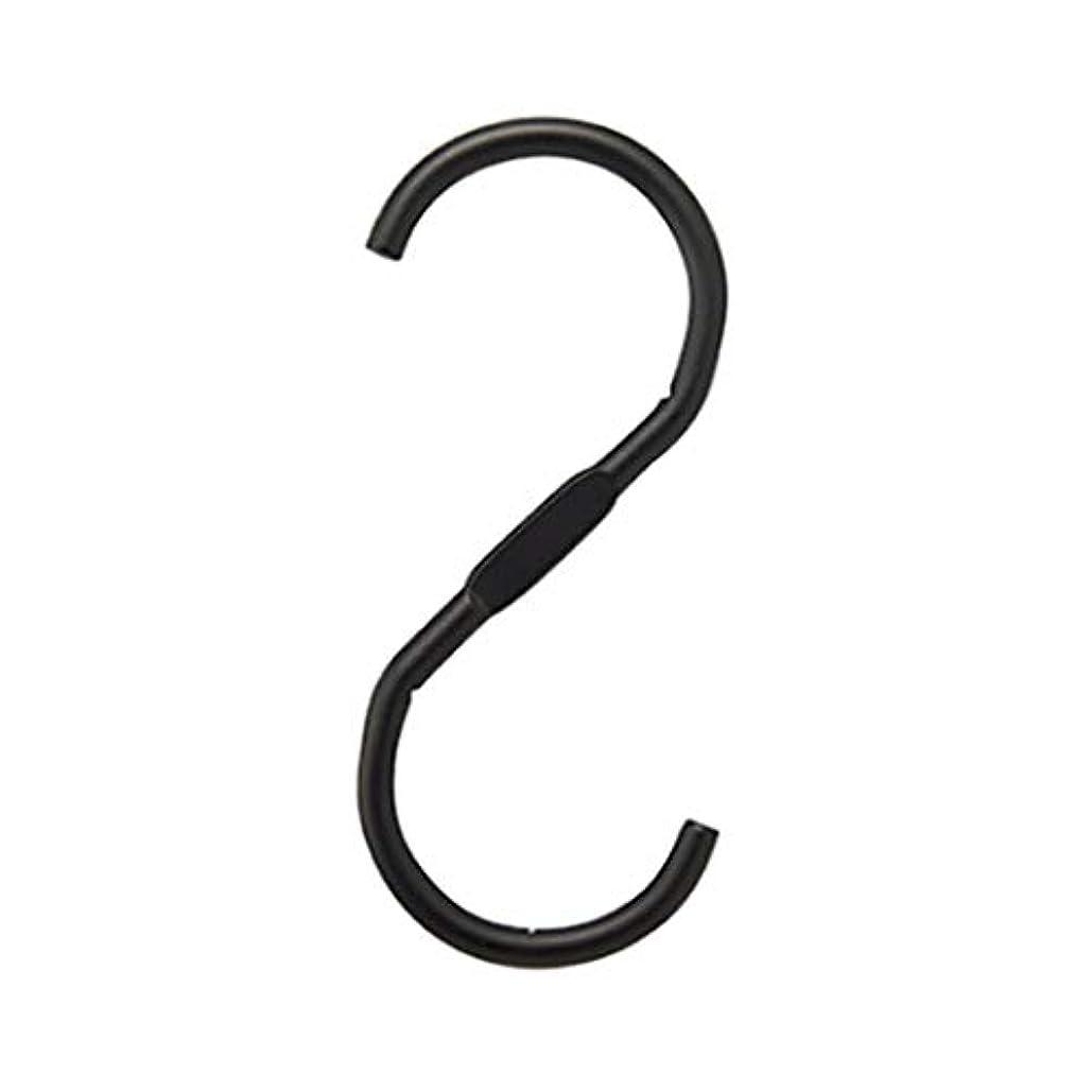 なので囲いモールス信号アズワン スチール製ディスプレー用フック ブラック/61-7231-07