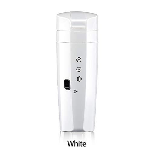 70W, 12V / 24V Universal, 0.35L, Voiture, Maison, Contrôle De La Température, Tasse De Chauffage électrique, Fiole De Vide (White)
