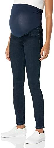 Motherhood Maternity Women s Plus Size Indigo Blue Super Stretch Secret Fit Belly Skinny Denim product image