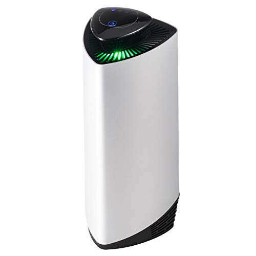 Z ZELUS Purificador de Aire de Iones Nagativos sin Filtro para Hogar Oficina Ionizador de Aire Silencioso con 4 Modos Air Purifier Portátil con USB