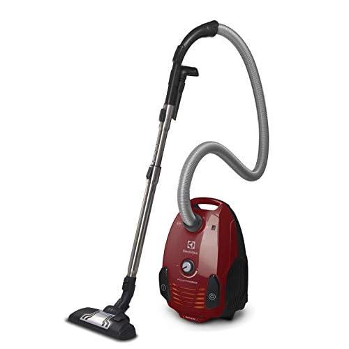 Electrolux EPF6ANIMAL Cylinder vacuum 3.5L 800W A Red vacuum - Vacuums (800 W, A, 27.9 kWh, Cylinder vacuum, Dust bag, 3.5 L)