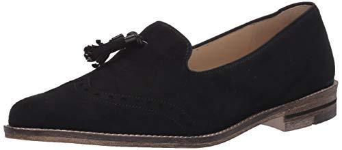 ara Women's Loafer Flat, Black 9.5 M US