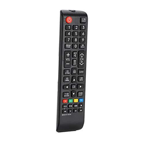 Universele afstandsbediening voor thuisbioscoop op lange afstand Afstandsbediening voor tv met grote knoppen Gemakkelijk vast te pakken Stevig Compatibel met BN59-01303A