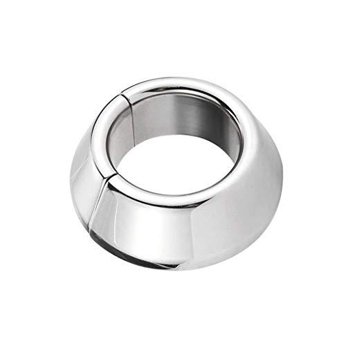Metall Penis Ringe, hochwertige Edelstahl Ċock Ring Sex Delay Spielzeug für Männer