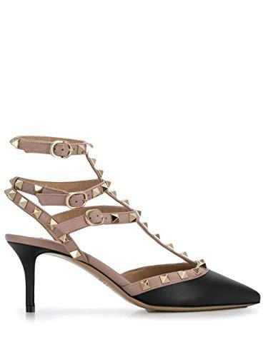 Valentino Luxury Fashion Donna TW2S0375VODN91 Nero Pelle Scarpe con Tacco | Autunno-Inverno 20