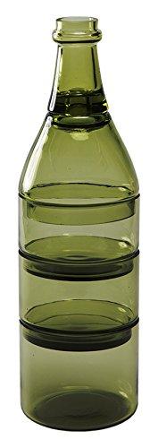 Doiy l'Aperò Set Aperitivo, Verde, 25 x 25 x 12 cm