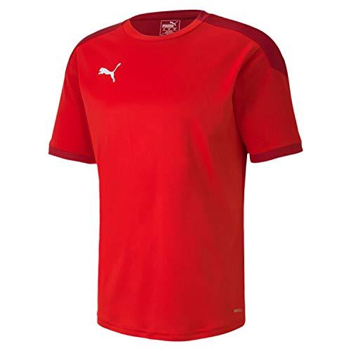 PUMA Teamfinal 21 Training Jersey Camiseta, Hombre, Red-Chili Pepper, L