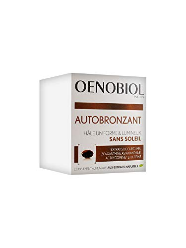 petit un compact Oenobiol – Boîte Autobronzante 30 Capsules Solaires Oenobiol