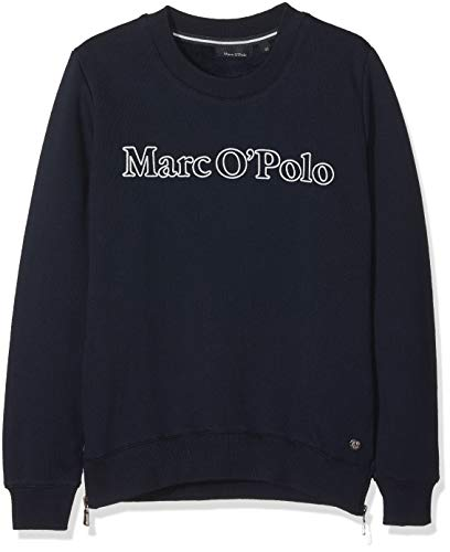 Marc O' Polo Kids Marc O' Polo Kids Mädchen 1/1 Arm Sweatshirt, Blau (Night Sky 3143), 128