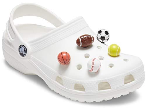 Crocs Jibbitz - Abalorio para zapatos (5 unidades), diseño de zapato